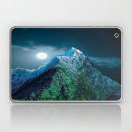 Night Mountains No. 21 Laptop & iPad Skin