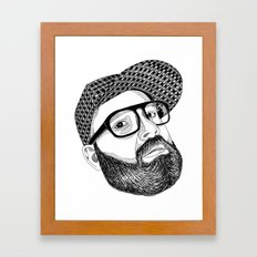 FULL MANO Framed Art Print