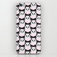 LAZY  PANDA iPhone & iPod Skin