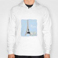 Paris in Powder Blue Hoody