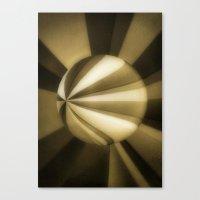 Sol Adentro, obscuro Canvas Print