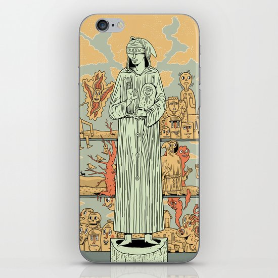Saint Francis iPhone & iPod Skin