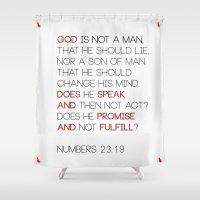 Not a Man Shower Curtain