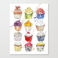 Cupcakes Galore! Canvas Print