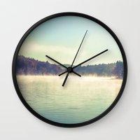 Peaceful Reflections Wall Clock