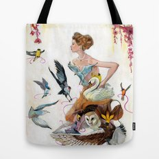 Lady of Spring Tote Bag