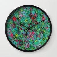 Ripple Effect Wall Clock