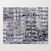 Post-Digital Tendencies … Canvas Print