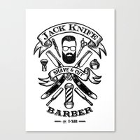 Jack Knife Canvas Print