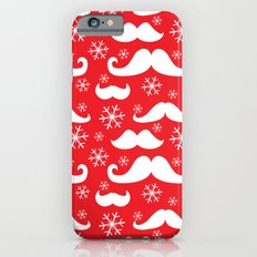 Mustaches and Snowflakes iPhone 6 Slim Case