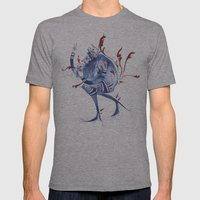 Guardian of Self Decay Mens Fitted Tee Athletic Grey SMALL
