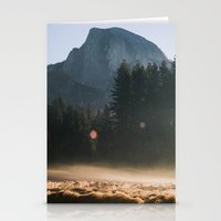 Half Dome Sunrise Stationery Cards