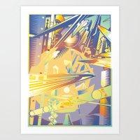 Future Scape Art Print