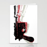 Blaster (Right) Stationery Cards