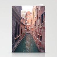 Venetian Corridor Stationery Cards