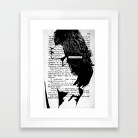 A Sort of Triumph Framed Art Print