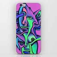 Twin Spirits iPhone & iPod Skin