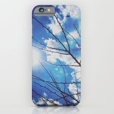 Thorns on blue iPhone 6 Slim Case
