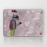 006_raccoon Laptop & iPad Skin