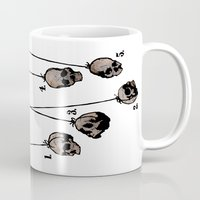 The Five Dancing Skulls Of Doom Mug