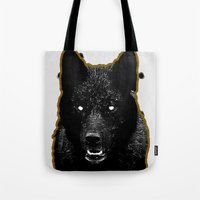 Just Wolf. Tote Bag