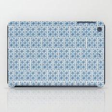 Blue Tile Pattern No. 3 iPad Case