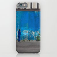 iPhone & iPod Case featuring Paint it blue by MoreOrLens