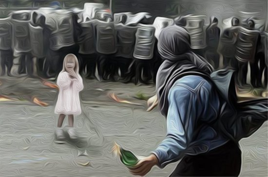 innocents takes no sides Art Print
