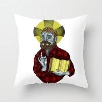 The Saint Throw Pillow