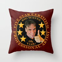 Five Star Certified Throw Pillow