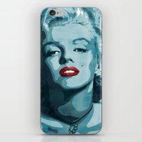 Brass Knuckle Marilyn Mo… iPhone & iPod Skin