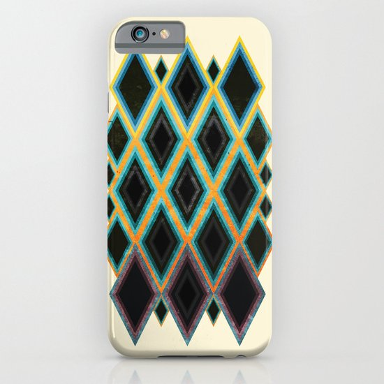 Diamond pattern iPhone & iPod Case