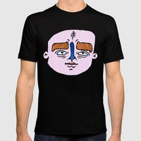 portrait of the alchemist's son Mens Fitted Tee Black SMALL
