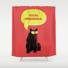 Unbearable Shower Curtain