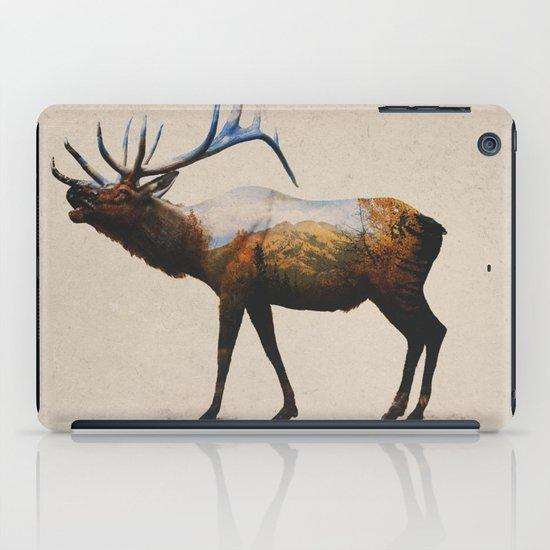 The Rocky Mountain Elk iPad Case