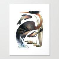 The Heron Canvas Print