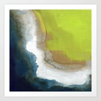Surf Abstraction Art Print