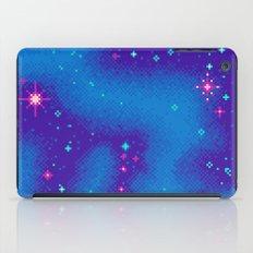 Indigo Nebula (8bit) iPad Case