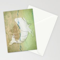 The ghost of Captain Ahab  Stationery Cards