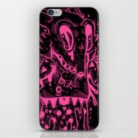 Happy Madness Negative Version iPhone & iPod Skin