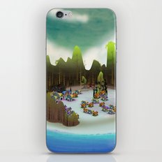 PEACEFUL LIVING iPhone & iPod Skin