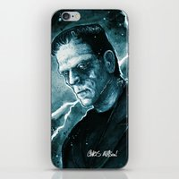Frankenstein's Monster iPhone & iPod Skin