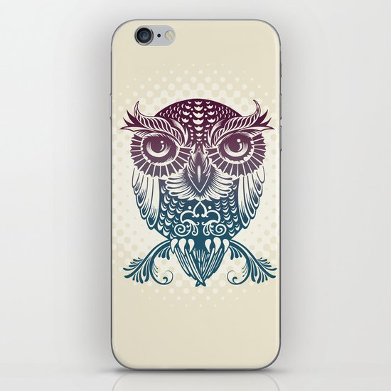 Baby Egyptian Owl iPhone & iPod Skin