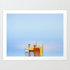 High Diving Art Print