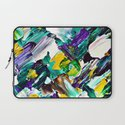 Green Intersections Laptop Sleeve