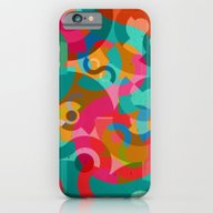 iPhone & iPod Case featuring Pattern Picasso by Tony Vazquez
