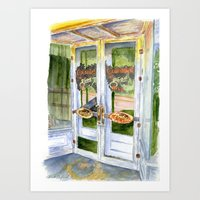 OLD SCOTT'S HILL GROCERY Art Print