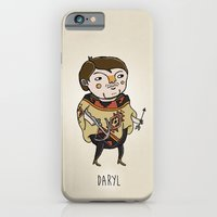 walking dead iPhone & iPod Cases featuring The Walking Dead, Daryl by Jarvis Glasses