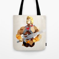 Polygon Heroes - He-Man Tote Bag