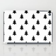 Black And White Christma… iPad Case